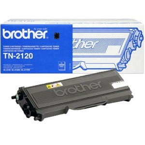 Brother Toner TN-2120 Black 2,6K