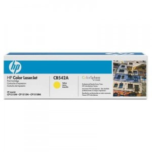 HP Toner nr 125 CB542A Yellow 1,4K