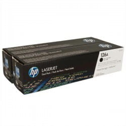 HP Toner nr 126 CE310AD Black 2pack 2x1,2K