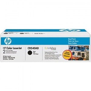 HP Toner nr 125 CB540AD Black 2pack