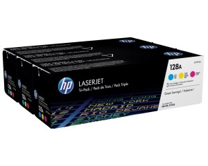 HP Toner nr 128A CF371AM 3pack CMY CE321,322,323