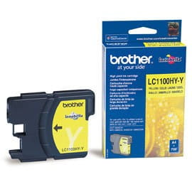 Brother Tusz LC1100 Yellow HC