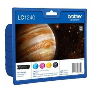 Brother Tusz LC1240 CMYK 4pack