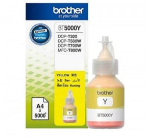 Brother Tusz BT5000Y Yellow 5K