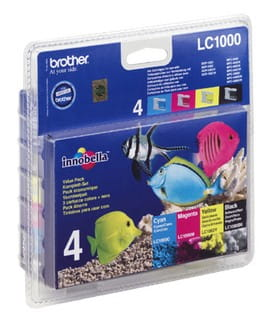 Brother Tusz LC1000 CMYK 4pack