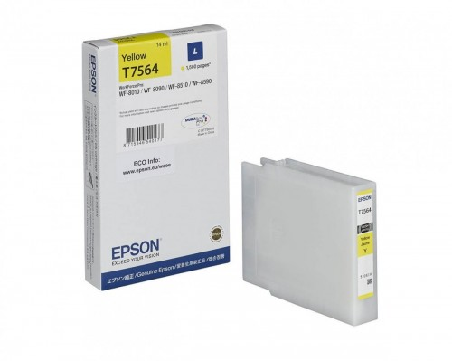 Epson Tusz T7564, L, Yellow 14ml