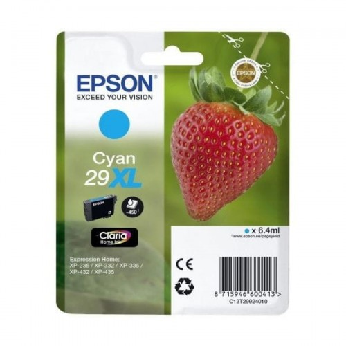 Epson Tusz Stylus XP235 T29XL Cyan 6.4ml